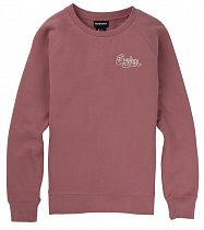 Пулон женский Burton Keeler Crew Fleece Rose Brown
