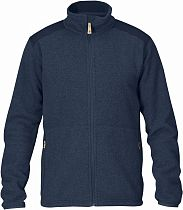Куртка мужская Fjallraven Sten Fleece Dark Navy