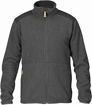 Куртка мужская Fjallraven Sten Fleece Dark Grey