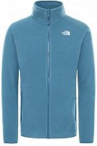 Куртка мужская The North Face 100 Glacier Full Zip Mallard Blue