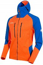 Куртка мужская Mammut Eiswand Advanced ML Hooded Arumita/Azurit