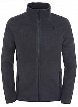 Куртка мужская The North Face 100 Glacier Full Zip Tnf Dark Grey Heather
