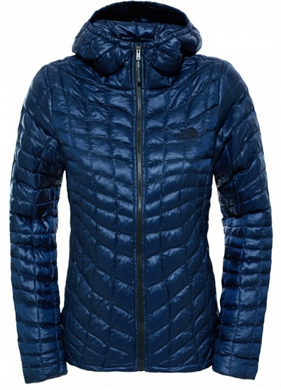 Куртка женская The North Face Thermoball Hoodie Cosmic Blue