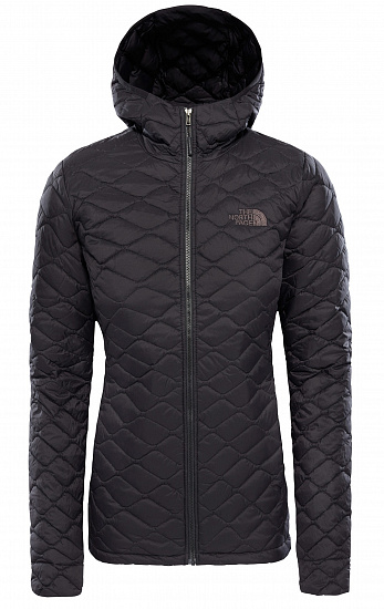 Куртка женская The North Face Thermoball Hoody TNF Black Matte