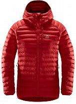 Куртка женская Haglofs Essens Mimic Hood Hibiscus Red/Brick Red