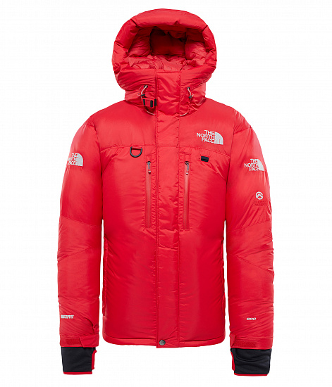 Парка мужская The North Face Himalayan Parka Red/Black - Фото 1 большая