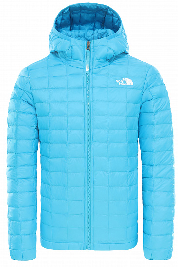 Куртка детская The North Face Thermoball Eco Hoodie Acoustic Blue - Фото 1 большая