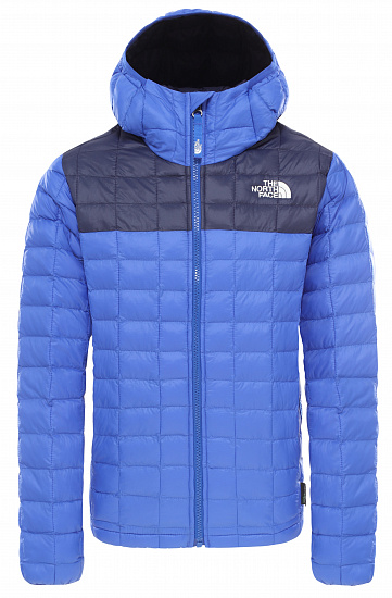 Куртка детская The North Face B Thermoball Eco Hoodie Tnf Blue - Фото 1 большая