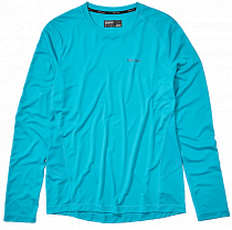 Футболка мужская Marmot Windridge LS Enamel Blue