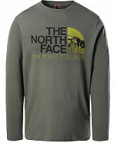 Футболка мужская The North Face Image Ideals Ls Agave Green