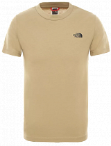 Футболка детская The North Face SS Simple Dome Kelp Tan