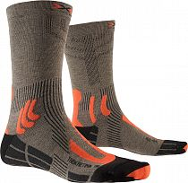 Носки X-Socks Trek Retina Suede Melange/Orange/Black