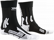 Носки женские X-Socks Trek Outdoor Opal Black/Arctic White
