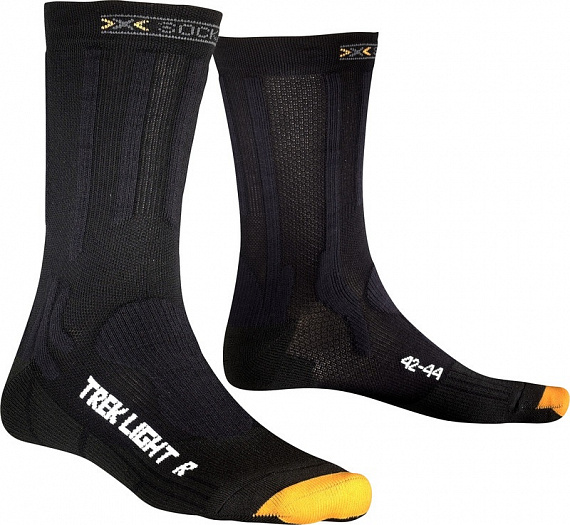 Носки X-Socks Trekking Light Black - Фото 1 большая