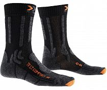 Носки унисекс X-Socks XS Trekking Light & Comfort Black/Orange