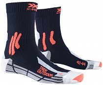 Носки X-Socks Trek Outdoor Midnight Blue/Kurkuma Orange