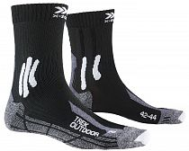 Носки X-Socks Trek Outdoor Opal Black/Dolomite Grey Melange