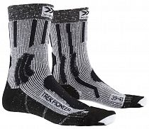 Носки X-Socks Trek Pioneer Opal Black/Flocculus White