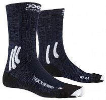 Носки X-Socks Trek X Merino Midnight Blue/Arctic White