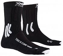 Носки женские X-Socks Trek X Comf Opal Black/Arctic White