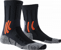 Носки X-Socks Trek Dual Granite Grey/Bonfire Orange