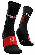Носки Compressport Pro Racing Winter Run Black/Red