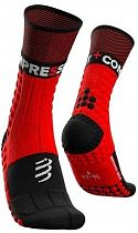 Носки Compressport Pro Racing Winter Trail Red/Black
