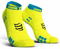 Носки Compressport V3 RUN Низкие Fluo Желтый