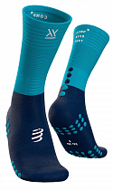 Носки Compressport Mid Compression Синий/Голубой