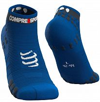 Носки Compressport V3 RUN Низкие Cиний Лолит