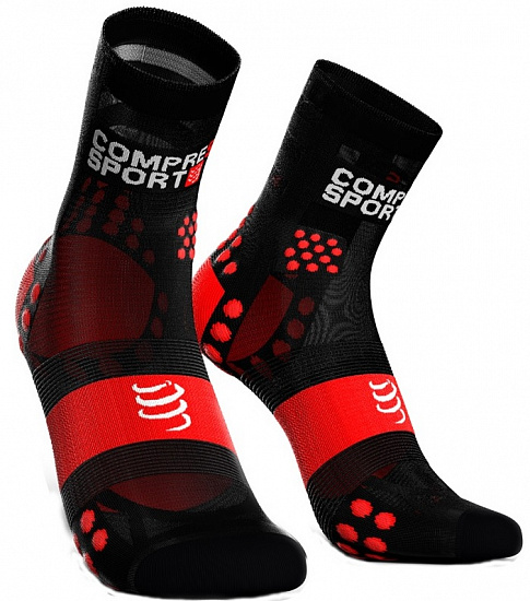 Носки Compressport Run Hi Ultralight V3 Черный