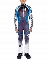 Комбинезон детский Helly Hansen Jr Speed Suit Gs Graphite Blue