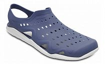 Сандалии мужские Crocs Swiftwater Wave Navy/White