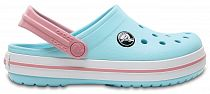 Сандалии детские Crocs Crocband Clog Ice Blue/White