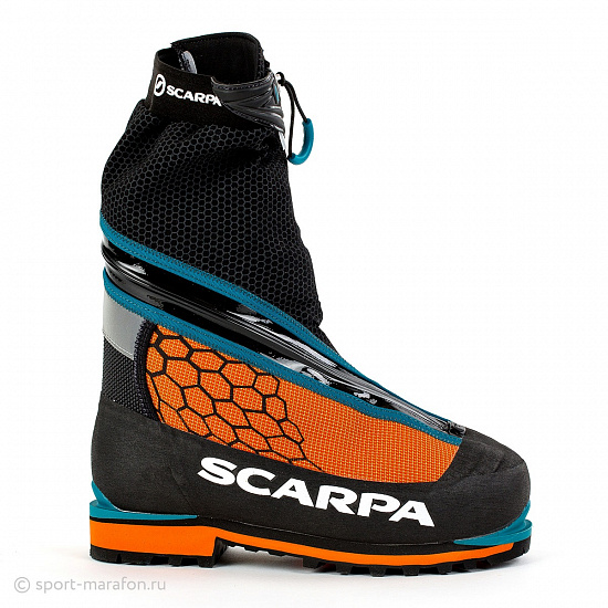 Ботинки Scarpa Phantom 6000 Black/Orange - Фото 1 большая