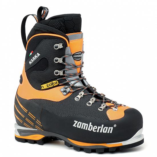 Ботинки Zamberlan 6000 Karka EVO RR Black/Orange - купить в магазине Спорт-Марафон с доставкой по России