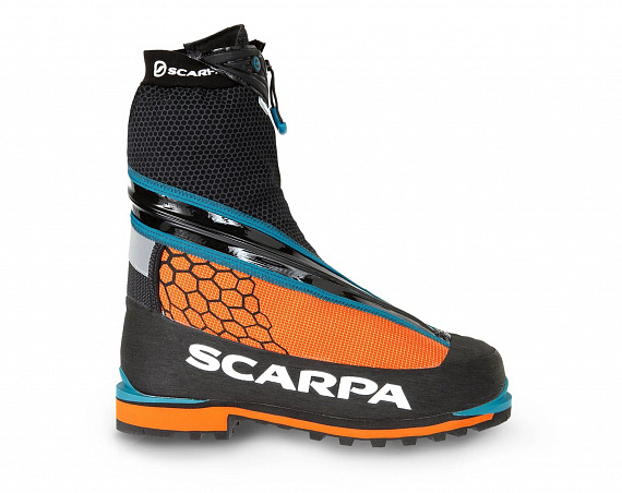 Ботинки мужские Scarpa Phantom Tech Black/Orange - Фото 1 большая