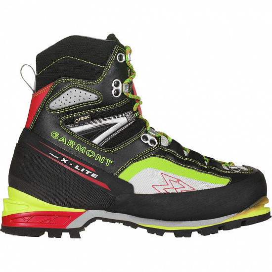 Ботинки Garmont Icon Plus GTX Black/Acid Green - Фото 1 большая