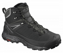 Ботинки мужские Salomon X Ultra Mid Winter CS WP Black/Phantom/Quiet Shade