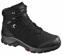 Ботинки мужские Salomon Quest Winter GTX Black/Ebony/Bk