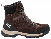 Ботинки мужские Jack Wolfskin Aspen Texapore High Dark Brown/Black