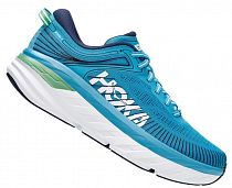 Кроссовки мужские Hoka Bondi 7 Blue Moon/Moonlit Ocean