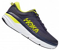 Кроссовки мужские Hoka Bondi 7 Odyssey Grey/Deep Well