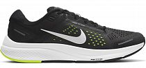 Кроссовки мужские Nike Air Zoom Structure 23 Black/Metallic Silver-Volt-Anthracite
