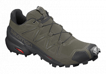 Кроссовки мужские Salomon Speedcross 5 Grape Leaf/Black