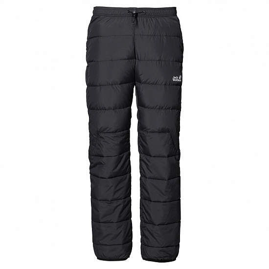 Брюки мужские Jack Wolfskin Atmosphere Down Black - Фото 1 большая