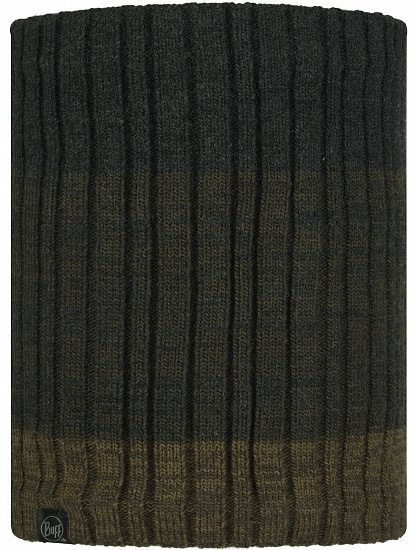 Шарф Buff Knitted & Fleece Neckwarmer Igor Graphite - Фото 1 большая