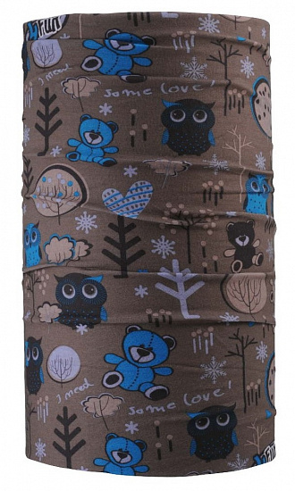 Бандана 4Fun Reversible Garden Brown - Фото 1 большая