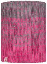 Шарф детский Buff Jr Knitted & Fleece Neckwarmer Gella Pump Pink