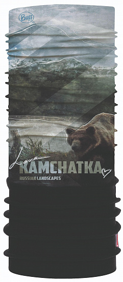 Бандана Buff Polar Kamchatka/Black - Фото 1 большая